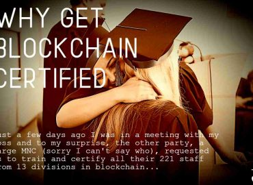 Why get blockchain certified