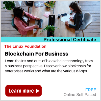 Blockchain for Business Linux Foundation