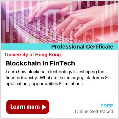 Blockchain in Fintech HKU