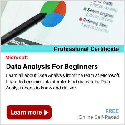 Data Analysis for Beginners Microsoft