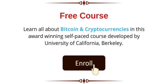 Free Bitcoin And Cryptocurrency Course