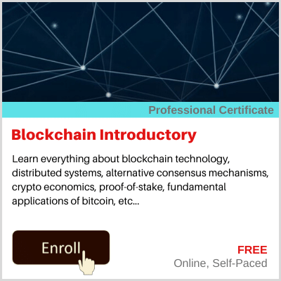 Blockchain Introductory Course Banner