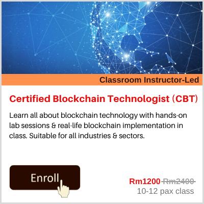 Certified Blockchain Technologist CBT Banner