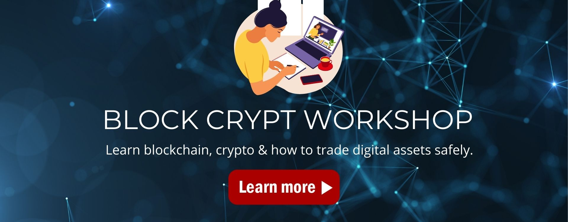 Block Crypt Workshop Home Page Header