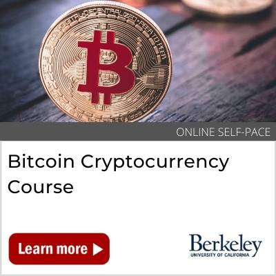 Bitcoin Cryptocurrency Course Frontpage Banner
