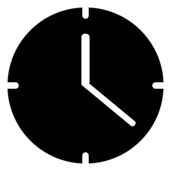 Clock Icon for Contact us page