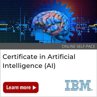 Certificate in Artificial Intelligence Banner