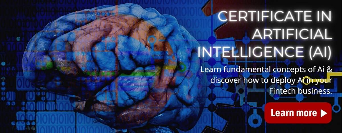 Certificate In Artificial Intelligence Home Page Banner